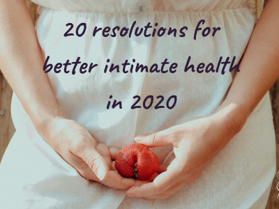 Prioritize YOU: 20 resolutions for better intimate health in 2020